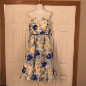 NWT Nicole Miller floral party dress